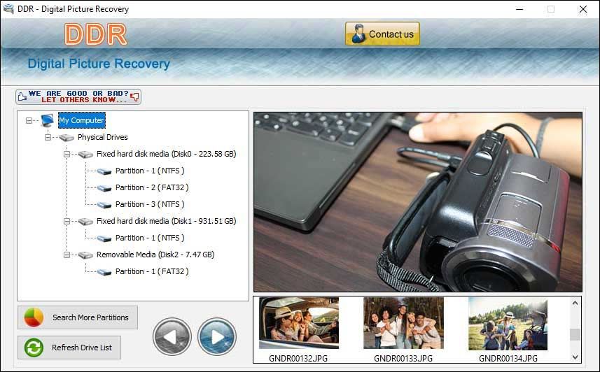 Photo Rescue Program screenshot